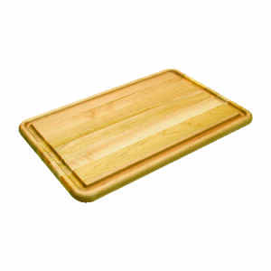 Snow River  14 in. W x 20 in. L Wood  Natural  Pastry/Turkey Board