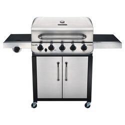 Char-Broil  Performance  Liquid Propane  Freestanding  Grill  Stainless Steel  5