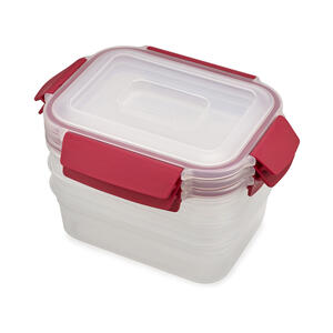 Joseph Joseph  Nest  37 oz. Food Storage Container Set  1 pk Clear
