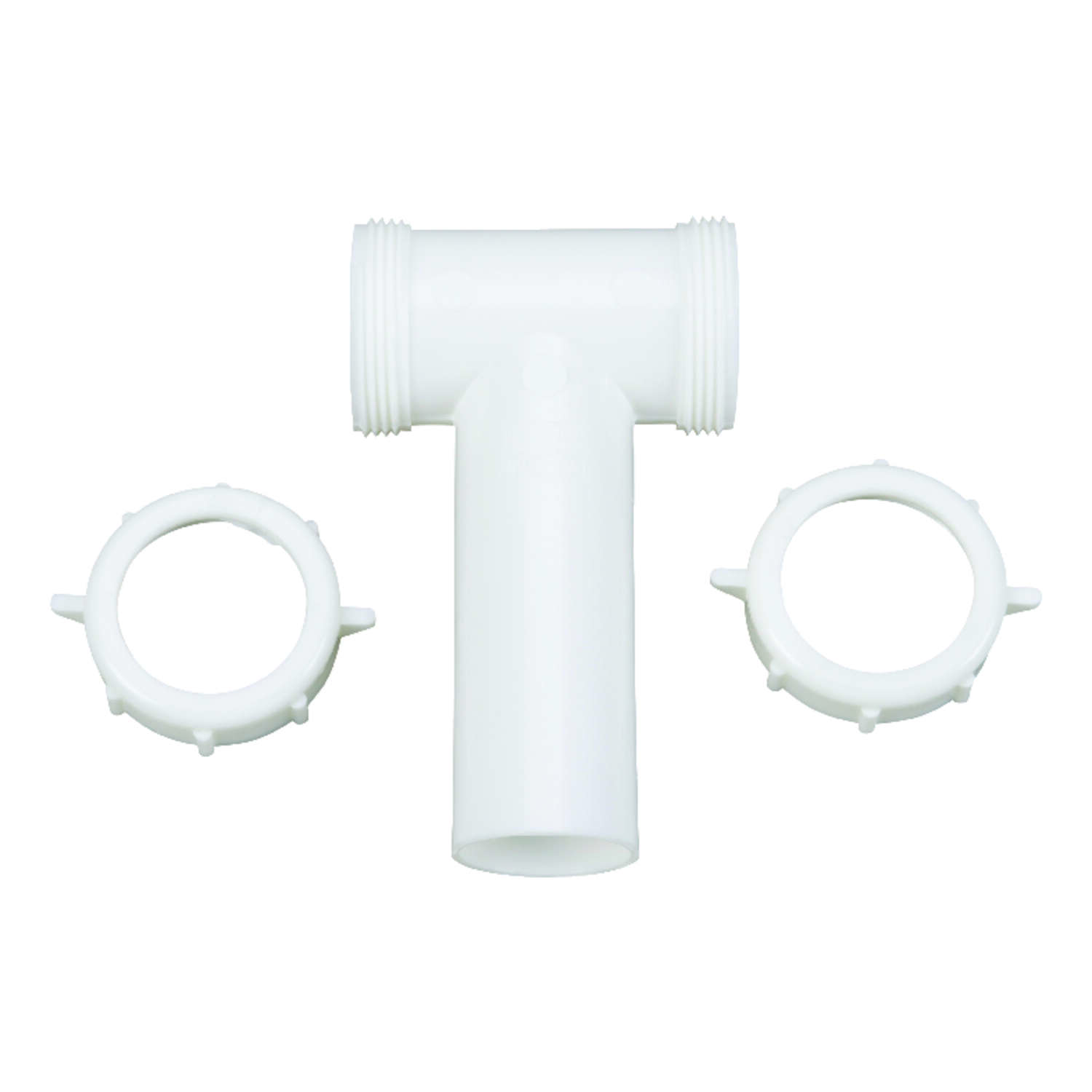 Ace  1-1/2 in. Slip   x 1-1/2 in. Dia. Slip  Plastic  Tee and Tailpiece