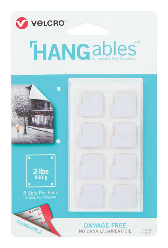 Velcro  HANGables  Removable Fasteners  8 pk
