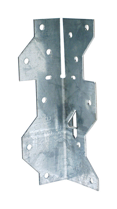 Simpson Strong-Tie 1.4375 in. H x 1.4 in. W x 4.5 in. L Galvanized ...