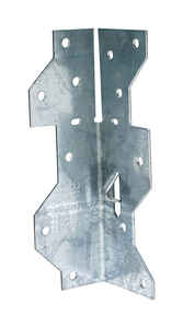 Simpson Strong-Tie  1.4375 in. H x 1.4 in. W x 4.5 in. L Galvanized Steel  Framing Angle