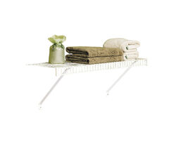 Rubbermaid  26 in. H x 12 in. W x 36 in. L Steel  Linen Shelf Kit  1 each