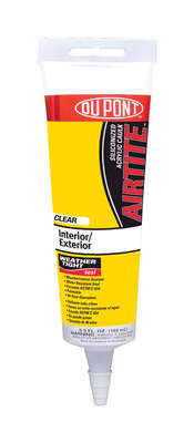 DuPont  Clear  Siliconized Acrylic Caulk  Sealant  5.5 oz.