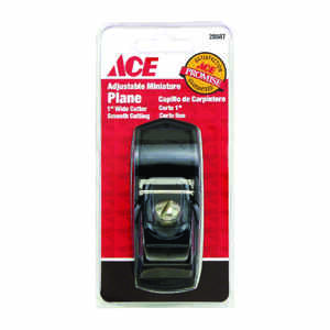 Ace  3 in. L x 1 in. W Mini Plane  Cast Iron