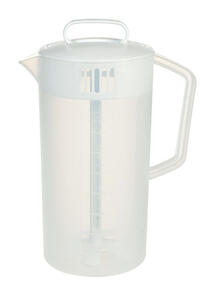 Rubbermaid  64 oz. White  Mixing Pitcher  Plastic