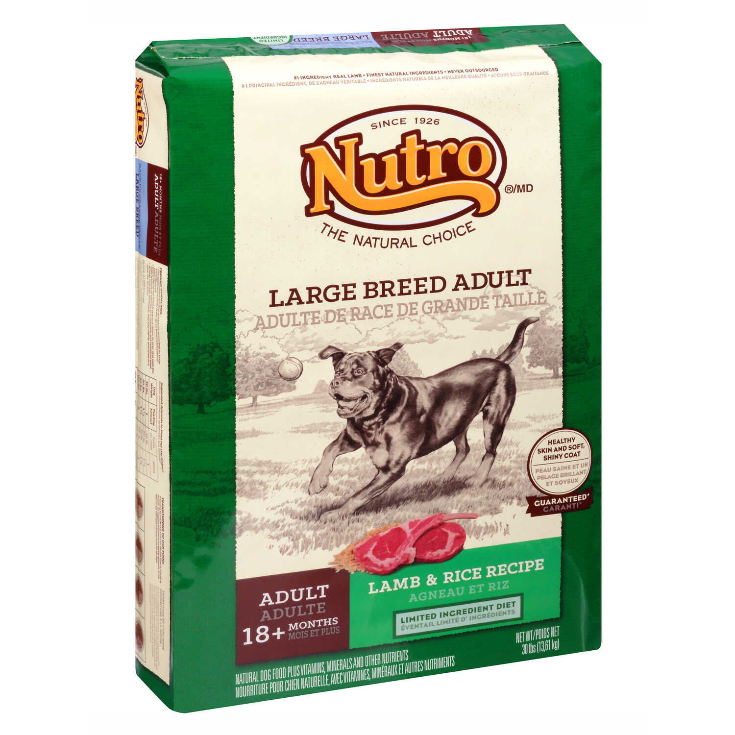 Nutro  Natural Choice  Lamb and Brown Rice  Dog  Food  15