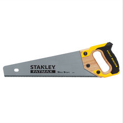 Stanley FatMax 15 in. Carbon Steel Multi Hand Saw 8 TPI 1 pc.