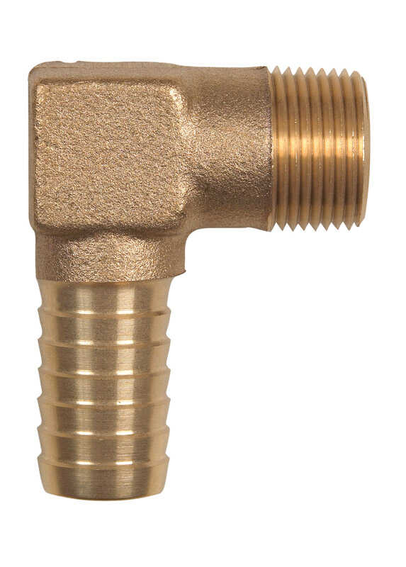 Campbell  Brass  Hydrant Elbow  1  3 in. L