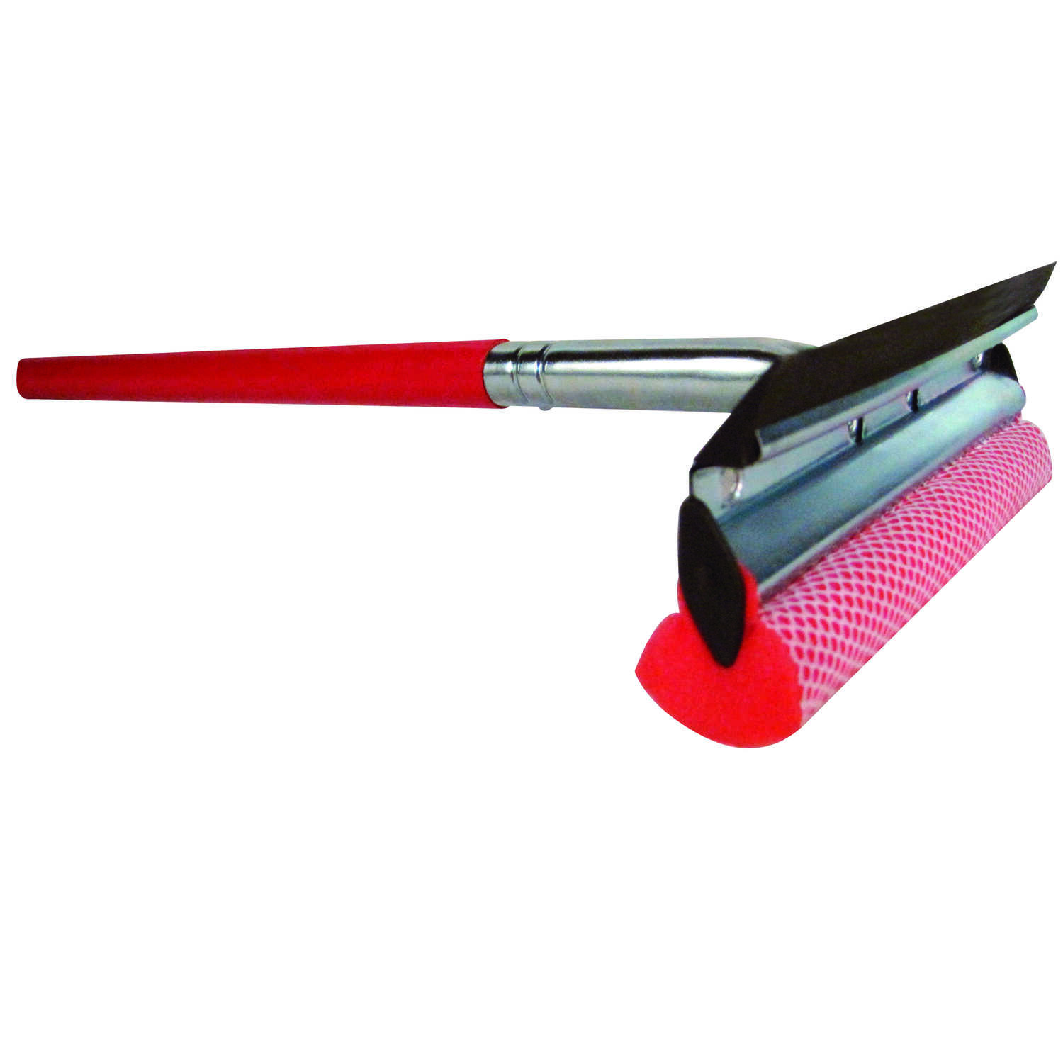 Ace  Scrub 'n Wipe  10 in. Rubber  Automotive Squeegee