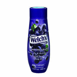 Sodastream  Welch's  Concord Grape  Soda Mix  14.8 oz. 1 pk