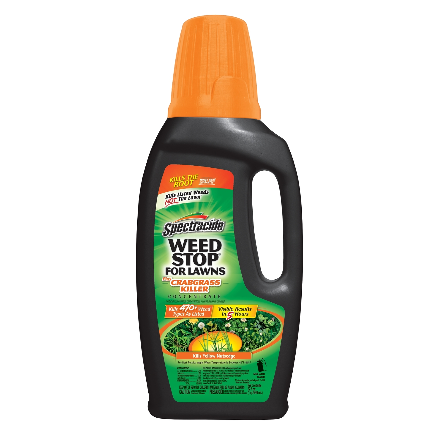 Spectracide  Weed Stop  Concentrate  Weed and Crabgrass Killer  32 oz.
