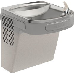 Elkay  8 gal. Gray  Wall Mount Cooler  Stainless Steel