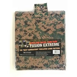 Fusion Extreme  12 ft. W x 16 ft. L Medium Duty  Polyethylene  Tarp  Digital Camouflage