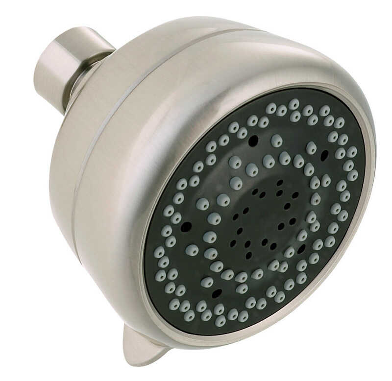 Delta  Brushed Nickel  7 settings Showerhead  1.75 gpm
