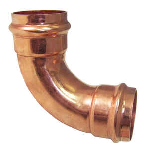 ApolloXpress  1/2 in. CTS   x 1/2 in. Dia. CTS/Press  Copper  90 Degree Elbow