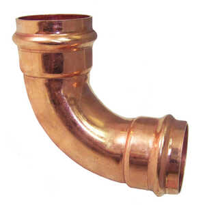 ApolloXpress  1/2 in. CTS   x 1/2 in. Dia. CTS/Press  Copper  Elbow