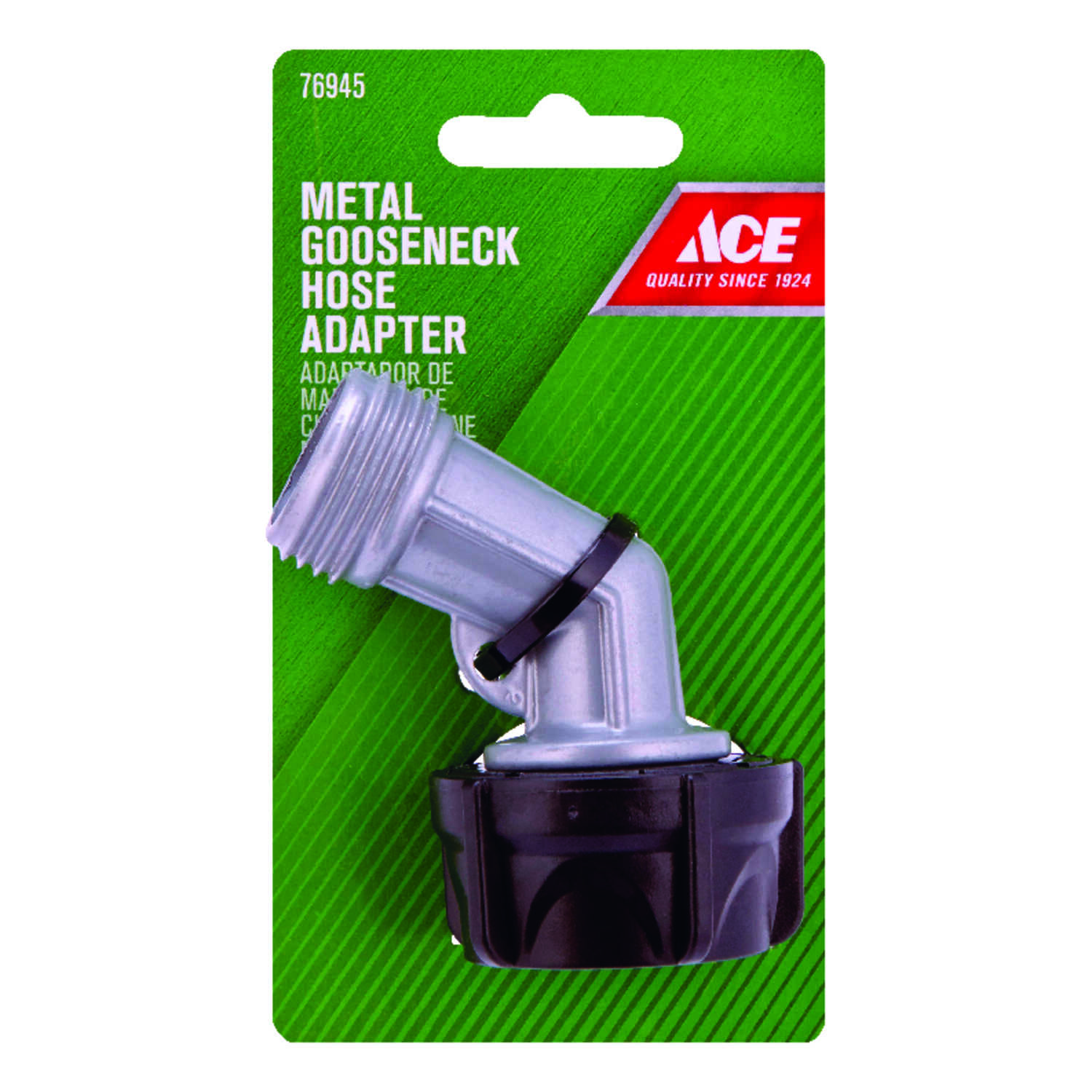 Ace  Zinc  Threaded  Male  Gooseneck Hose Adapter