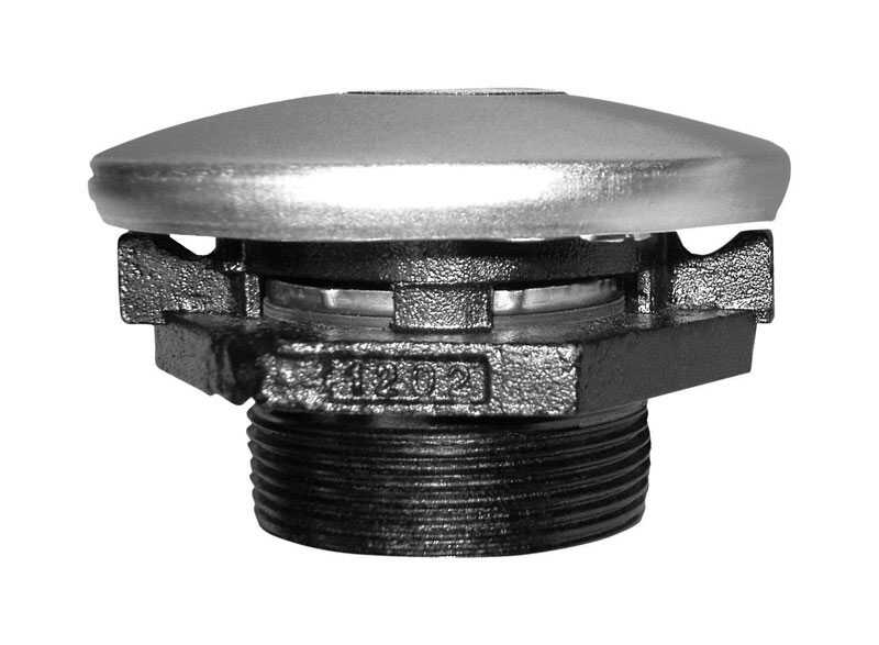 Fill-Rite  Steel  Vented Tank Cap With Base