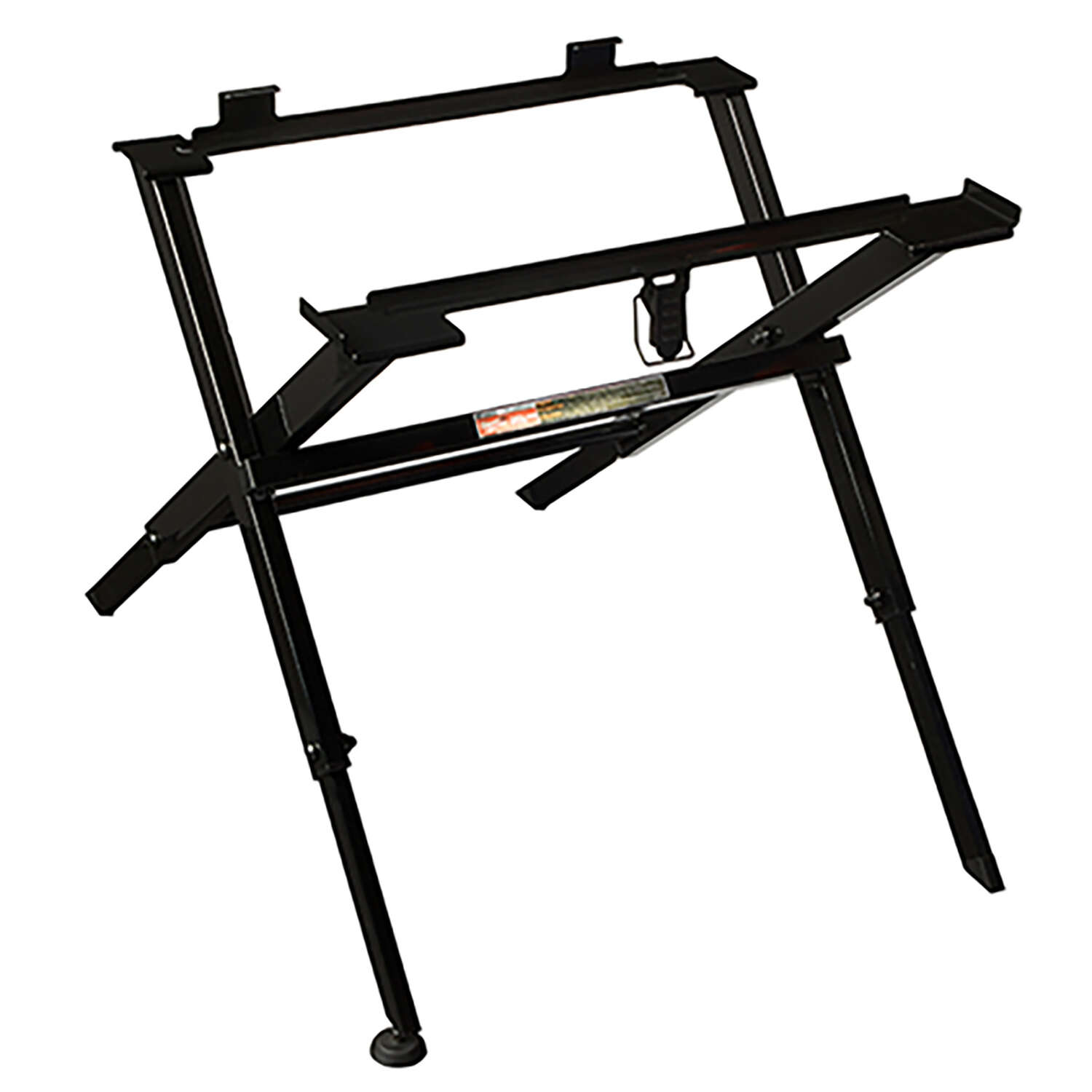Milwaukee  Steel  17.75 in. L x 20.5 in. H x 23 in. W Folding  Table Saw Stand  Black  1 pc.