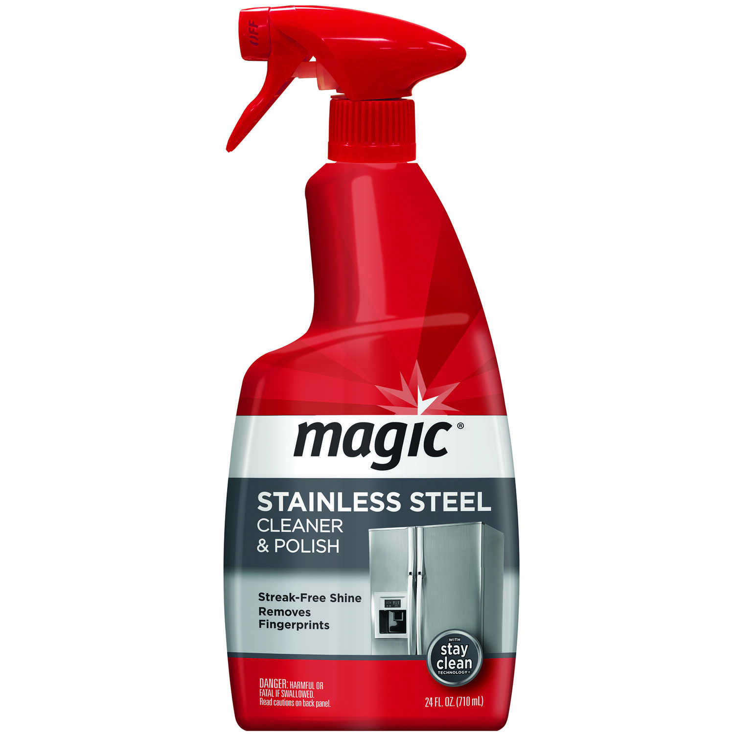Magic  Citrus Scent Stainless Steel Cleaner  24 oz. Liquid
