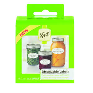 Ball  Dissolvable Canning Labels  60 pk