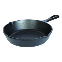 Lodge  Logic  Cast Iron  Skillet  8.31 in. Black