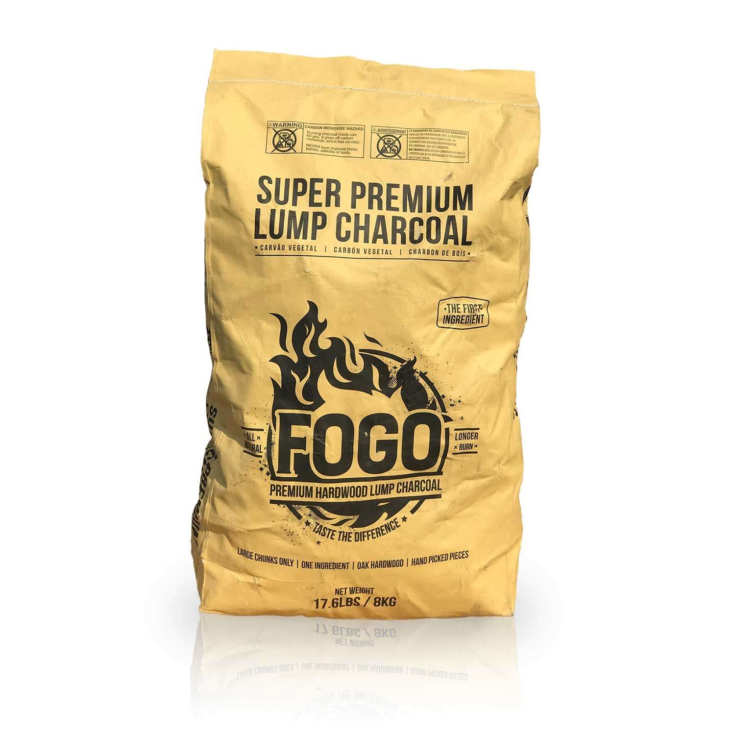 Fogo  Super Premium  All Natural Oak Hardwood  Lump Charcoal  17.6 lb.