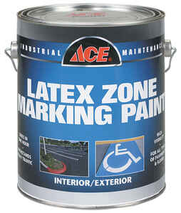 Ace  Handicap Blue  Traffic Zone Marking Paint  1 gal.