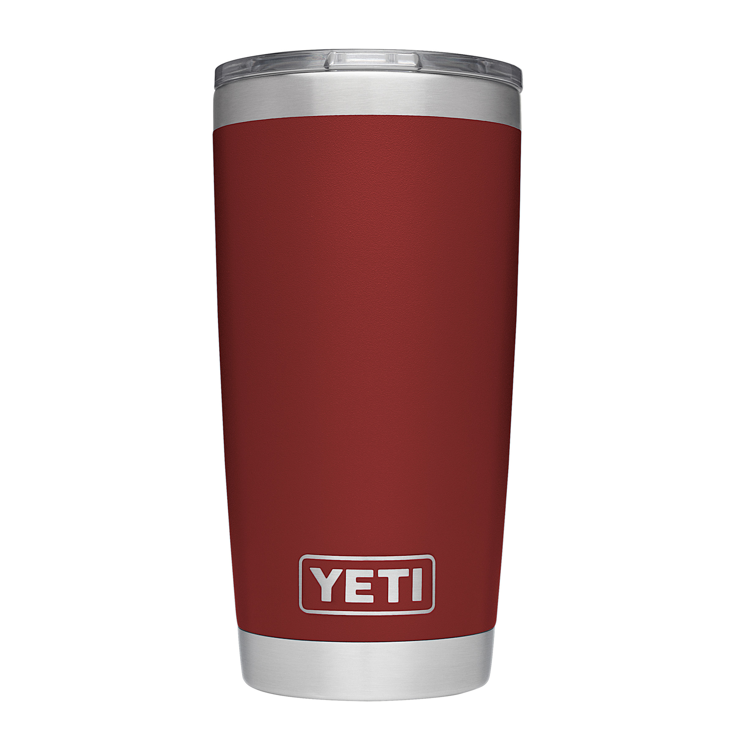 YETI  Rambler  Stainless Steel  Brick Red  Double Wall Tumbler  BPA Free 20 oz.