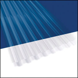 Suntuf 26 in. W x 144 in. L Polycarbonate Roofing Panel Clear