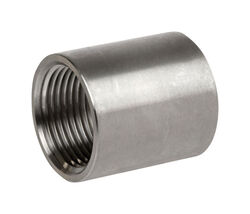 Smith-Cooper  1 in. FPT   x 1 in. Dia. FPT  Stainless Steel  Coupling