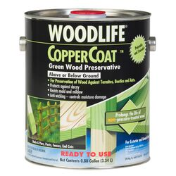 Rust-Oleum  Woodlife  Green  Water-Based  Wood Preservative  0.88 gal.