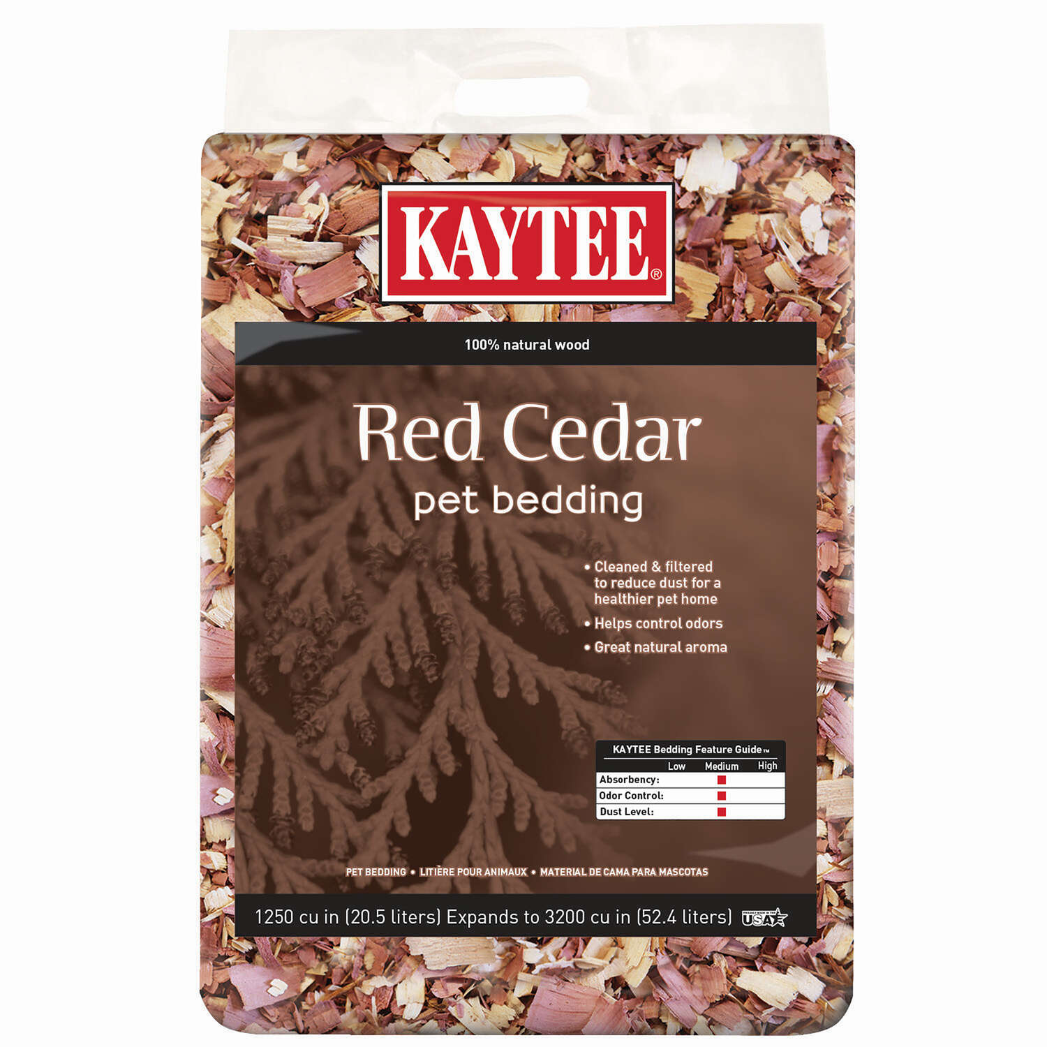 Kaytee  Natural Scent Red Cedar Bedding and Litter