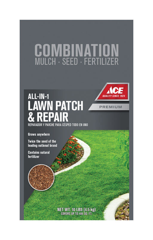 Ace  Lawn Repair  Mixed  Seed, Mulch & Fertilizer  10 lb.