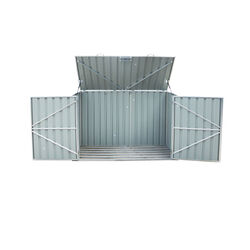 Build-Well  6 ft. W x 3 ft. D Metal  Horizontal  Storage Shed  1