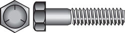 Hillman 3/8 in. Dia. x 3/4 in. L Heat Treated Zinc Steel Hex Head Cap Screw 100 pk