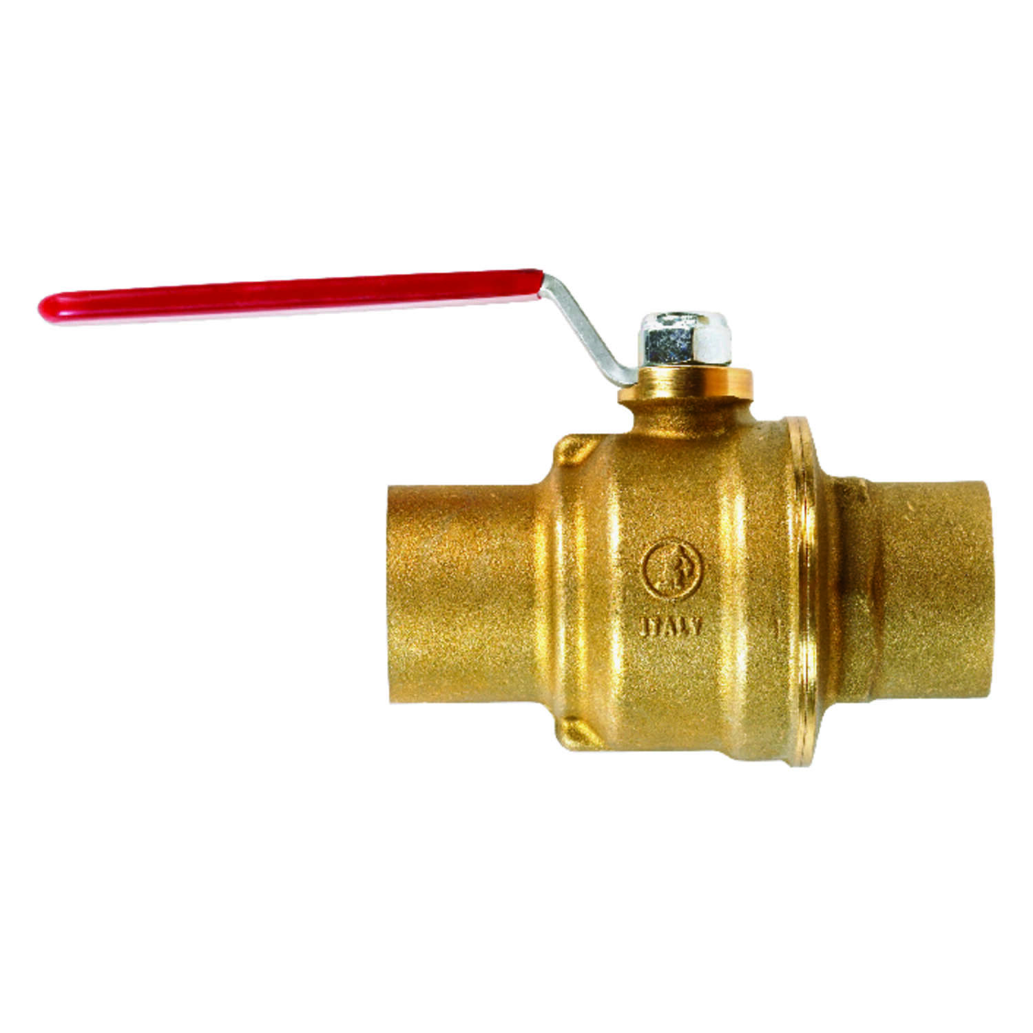 B&K  ProLine  1-1/2 in. Brass  Ball Valve  Full Port