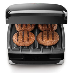 George Foreman  George Tough  Black  Plastic  Nonstick Surface Indoor Grill  60 sq. in.