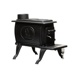 US Stove EPA Certified 900 sq. ft. Wood Burning Stove