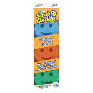 Scrub Daddy  Heavy Duty  Sponge  For All Purpose 3 pk