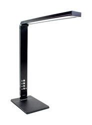 Newhouse  5 in. Semi-Gloss  Black  Desk Lamp