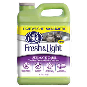 Cat's Pride  Fresh & Light  Fresh and Clean Scent Cat Litter  10 lb.