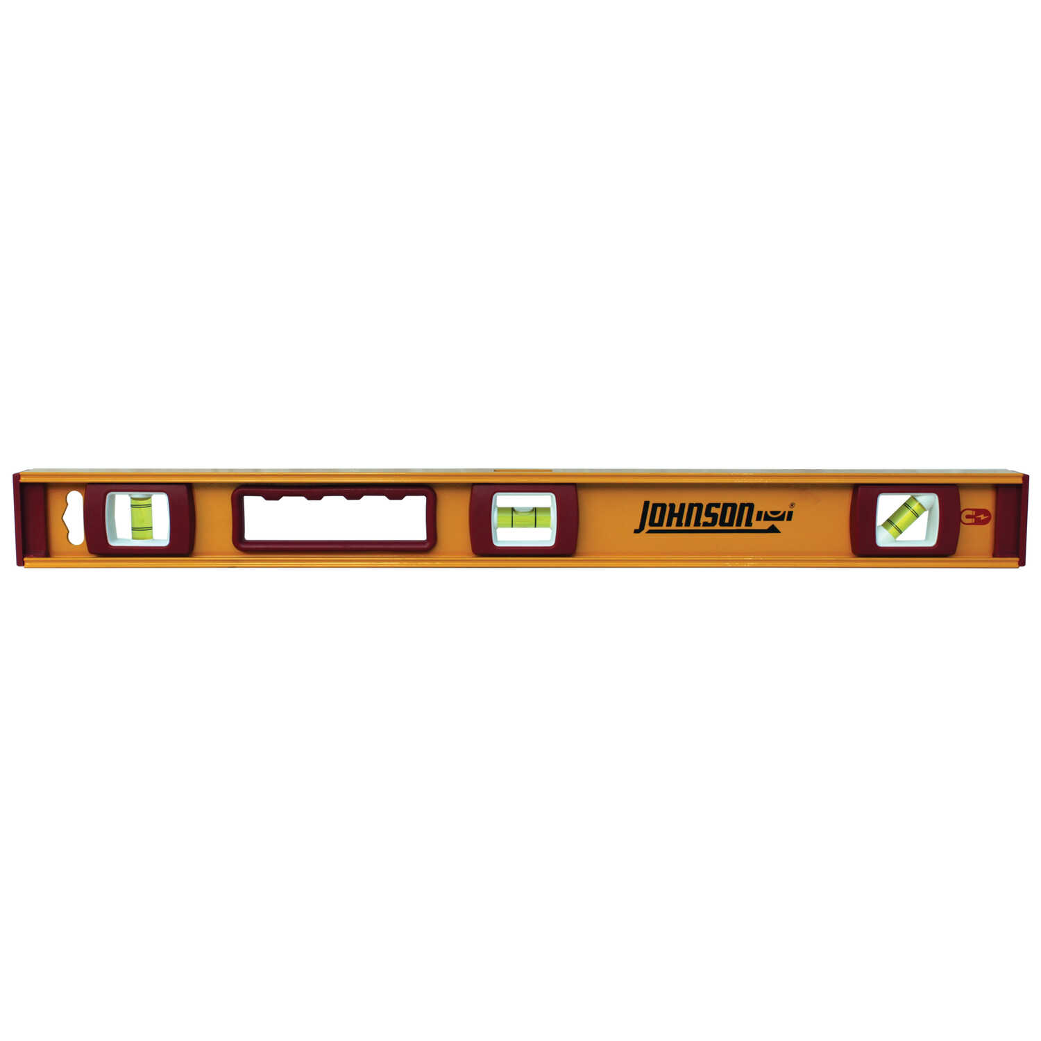 Johnson  24 in. Aluminum  I-Beam  Level  3