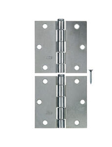 Ace  3-1/2 in. L Zinc-Plated  Broad Hinge  2 pk