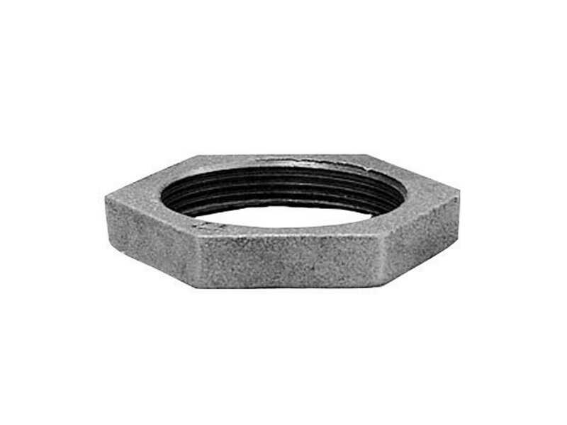 Anvil  1-1/2 in. FPT   Galvanized  Malleable Iron  Lock Nut