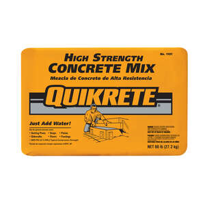 Quikrete  Ready-to-Use Concrete Mix  60 lb.