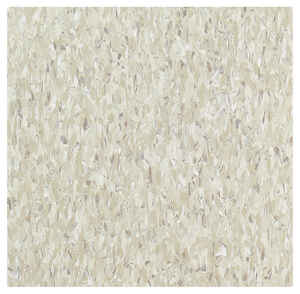 Armstrong  12 in. W x 12 in. L Standard Excelon Imperial  Shelter White / Gray  Vinyl  Floor Tile  4