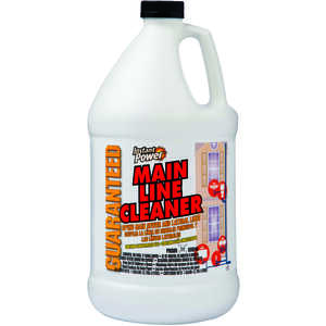 Instant Power  Liquid  Main Line Cleaner  1 gal.